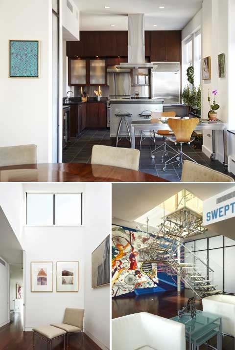 nyc apartment design art4 - NYC Apartment Design: Home for Art Collectors