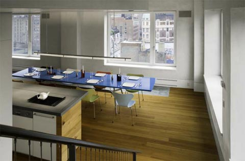 nyc penthouse design 29th10 - 29th St. Penthouse: New York City Skyline