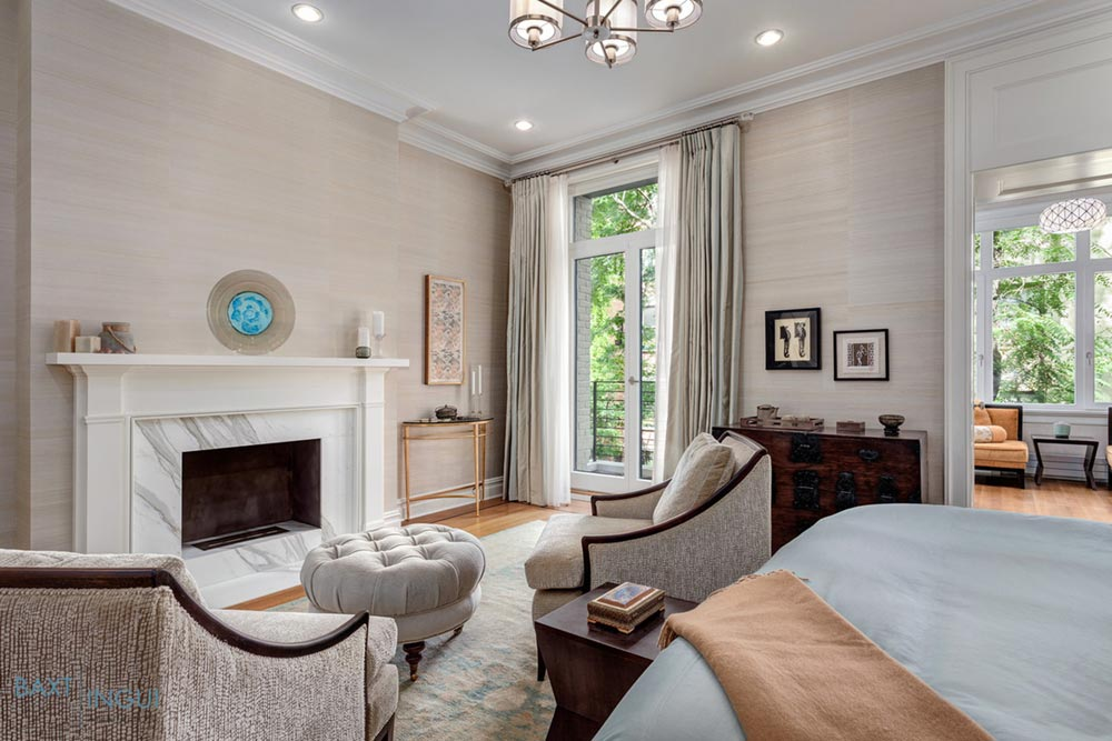 nyc townhouse design bedroom - Manhattan's First Passive House