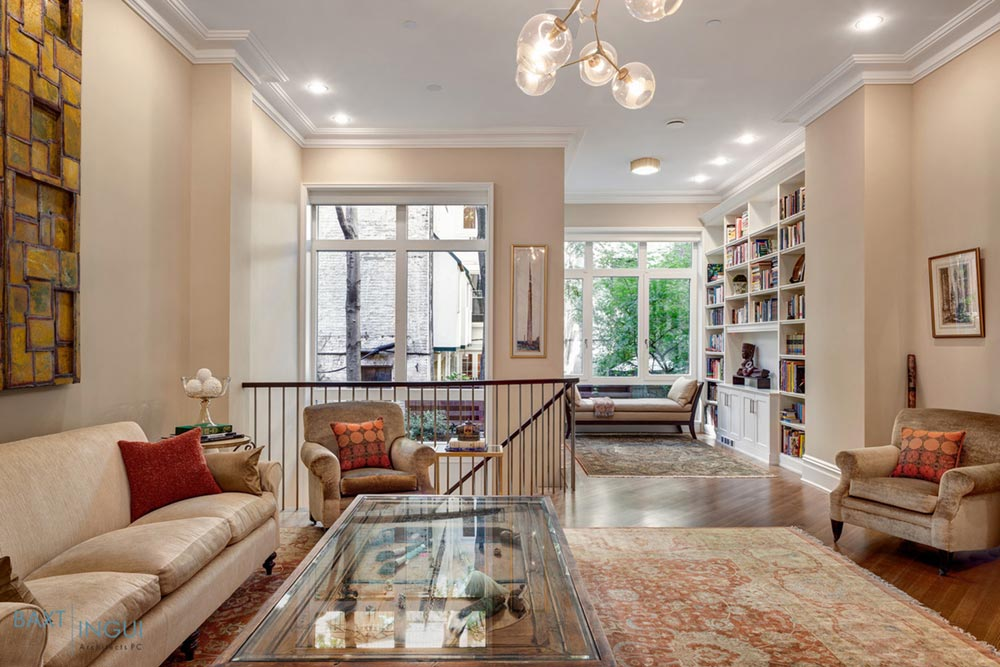 nyc townhouse design parlor - Manhattan's First Passive House
