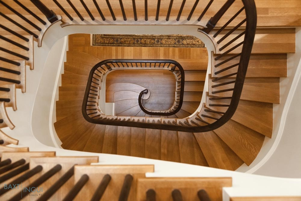 nyc townhouse design staircase - Manhattan's First Passive House