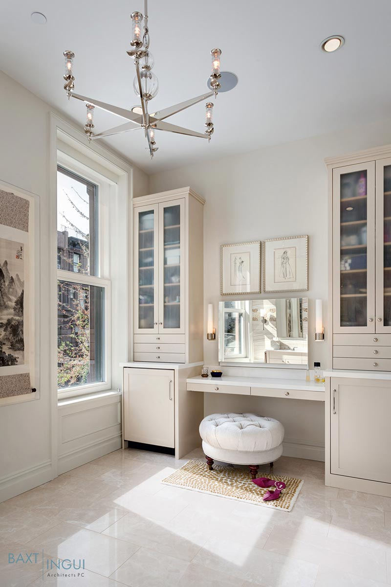 nyc townhouse design vanity - Manhattan's First Passive House
