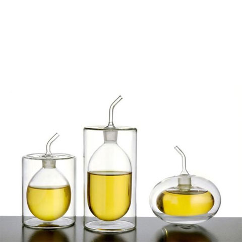 oil vinegar set ichendorf - Ichendorf Oil/Vinegar Pourers: Twice the Style