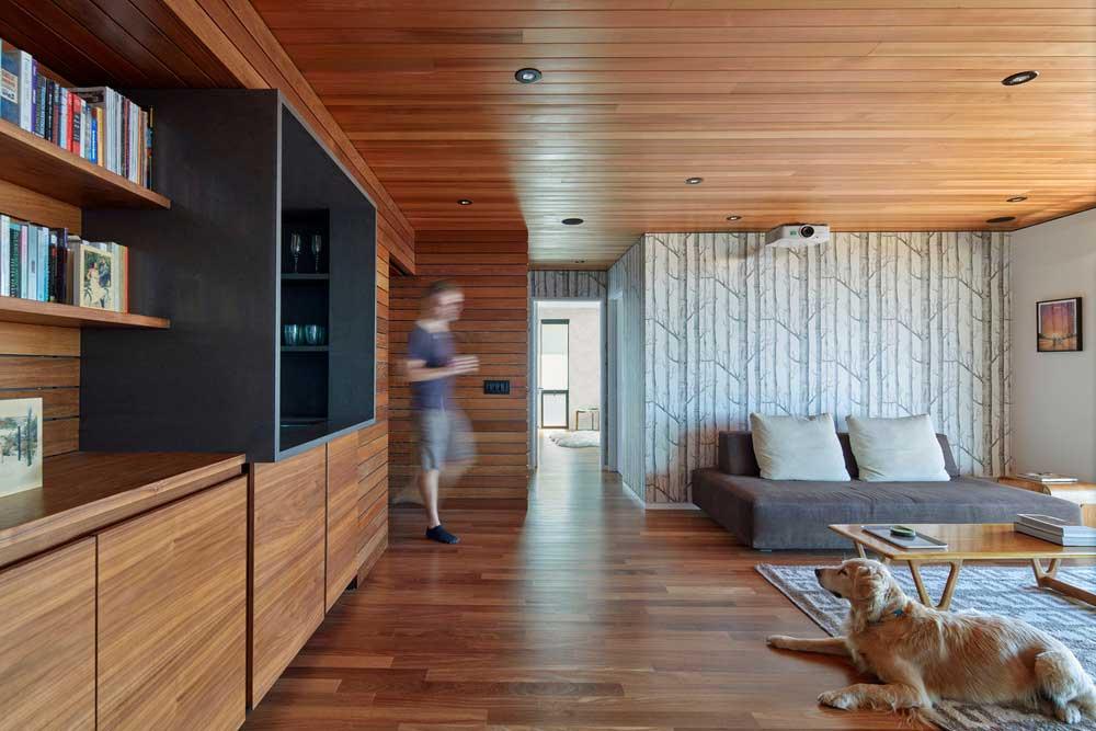 Open plan family home design