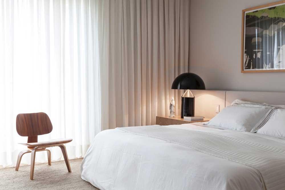 open space apartment bedroom ca - AQH Apartment