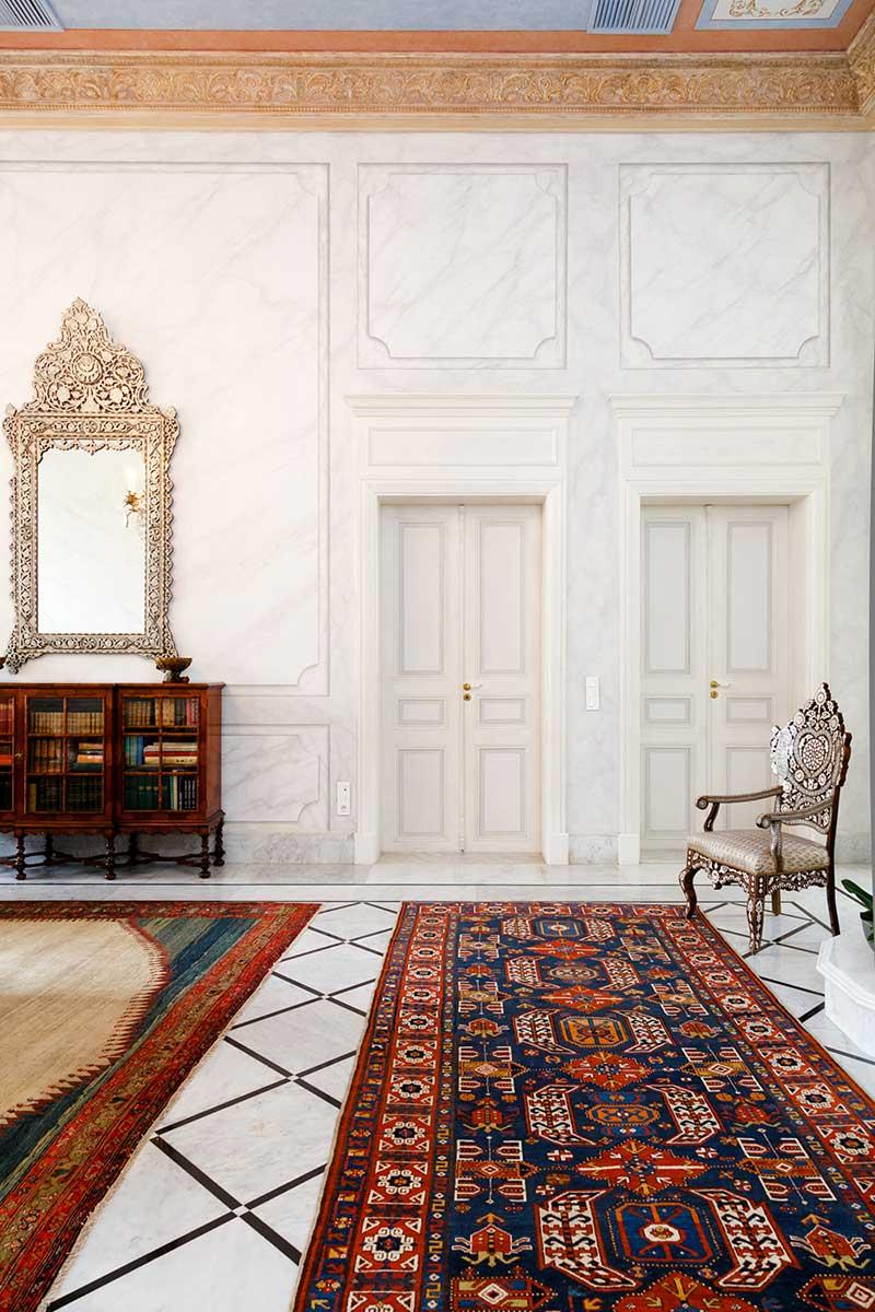 oriental villa carpet design - Villa Assouad
