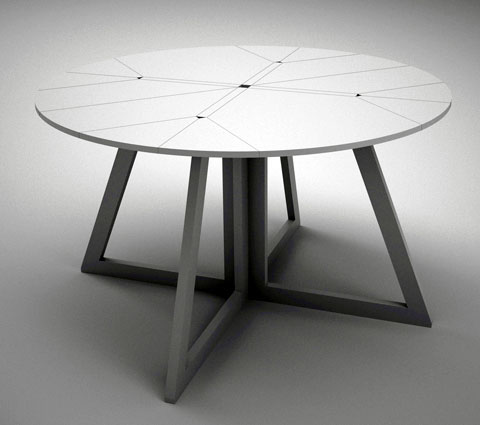 Grand Central Origami Style Folding Table Furniture