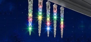 outdoor holiday icicles2 300x140 - icicle lights: lightshow of shooting stars