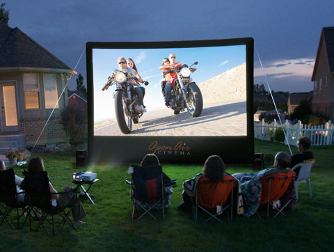 Outdoor Movie System Cinebox2