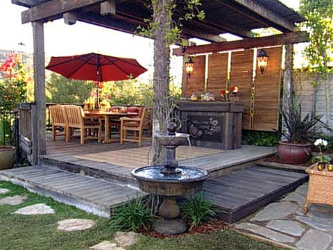 Outdoor space design ideas and inspiration garden patio for Patio deck decorating ideas