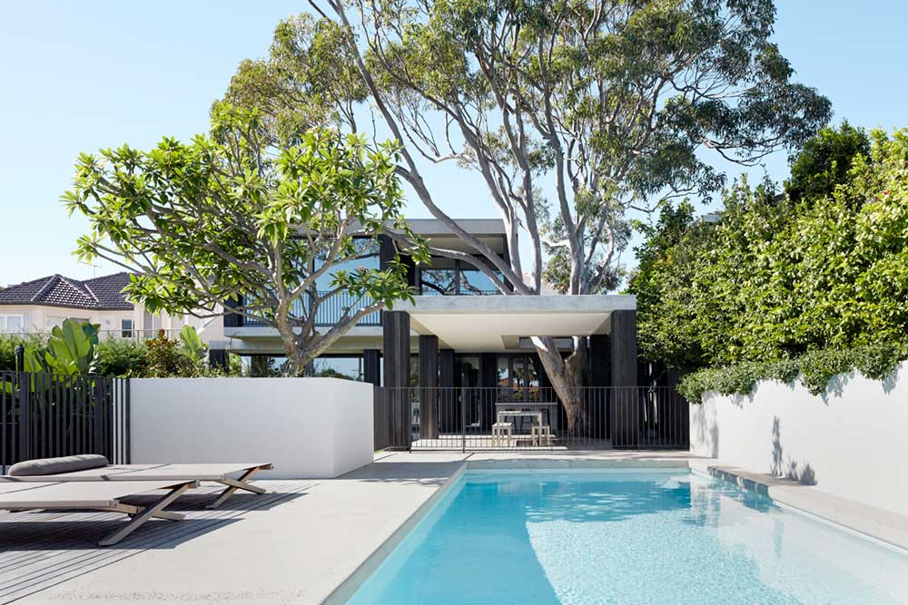 outdoor space pool design bea - Hopetoun Avenue Residence