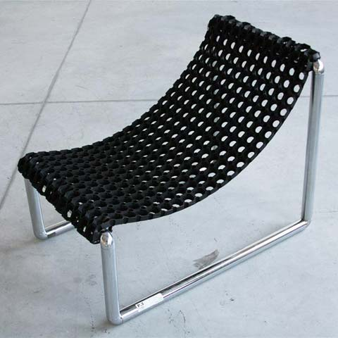 P3 diy chair simple design revived furniture for Pvc pipe lounge chair