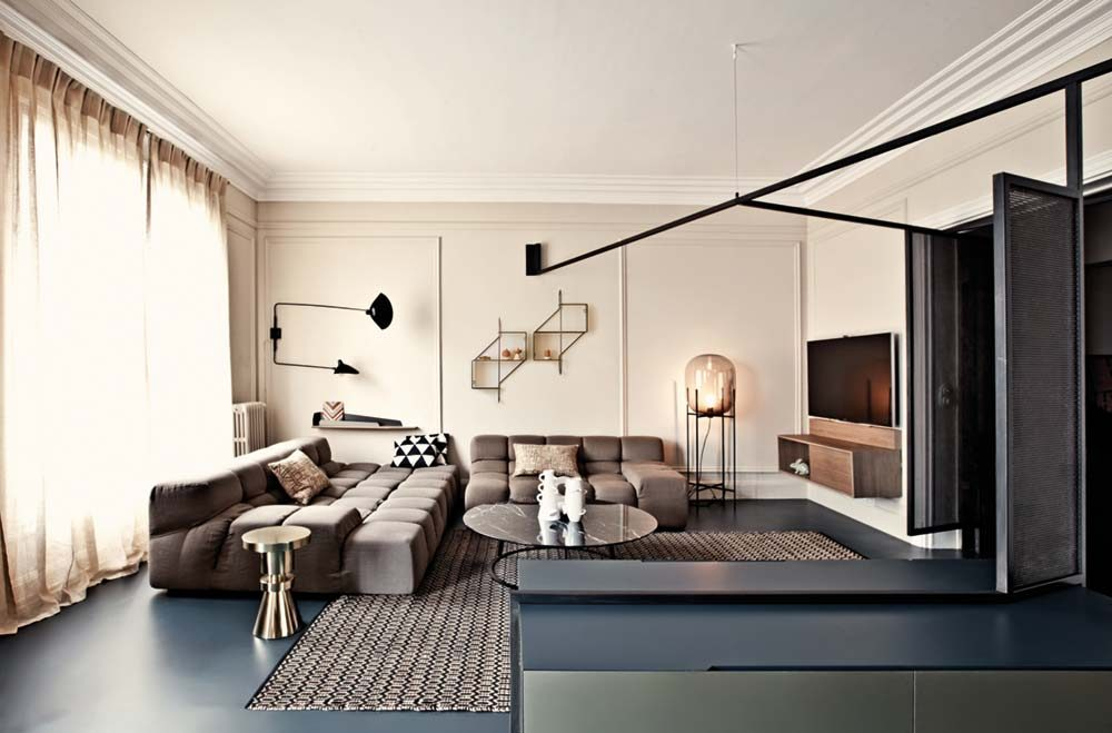Paris Apartment Interior Design by MARCANTE – TESTA