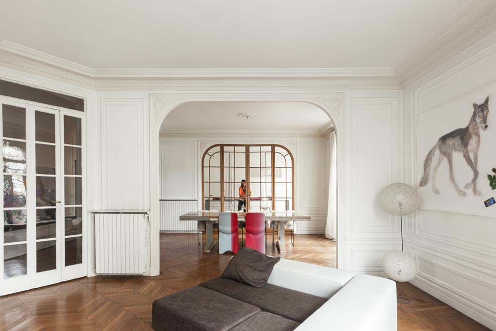 parisian apartment design i29 - Invisible Kitchen