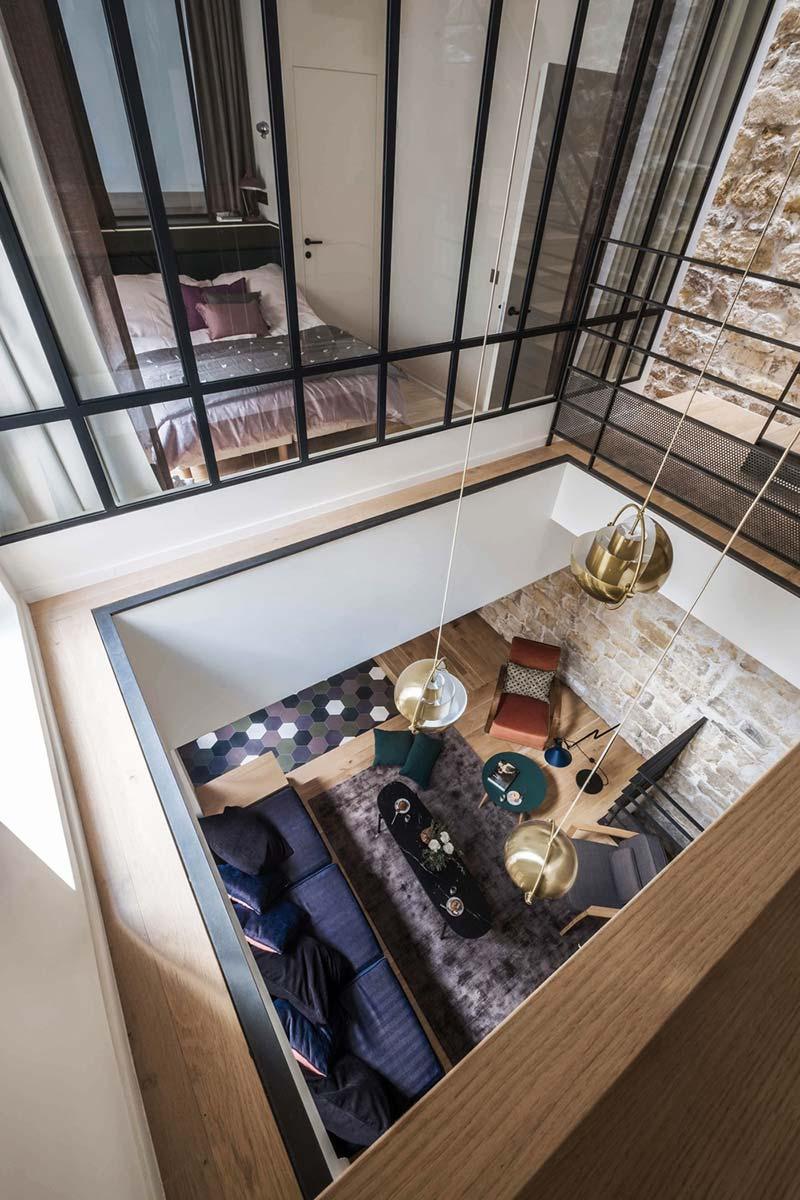 parisian family home bedroom design abc - A Parisian Family Home