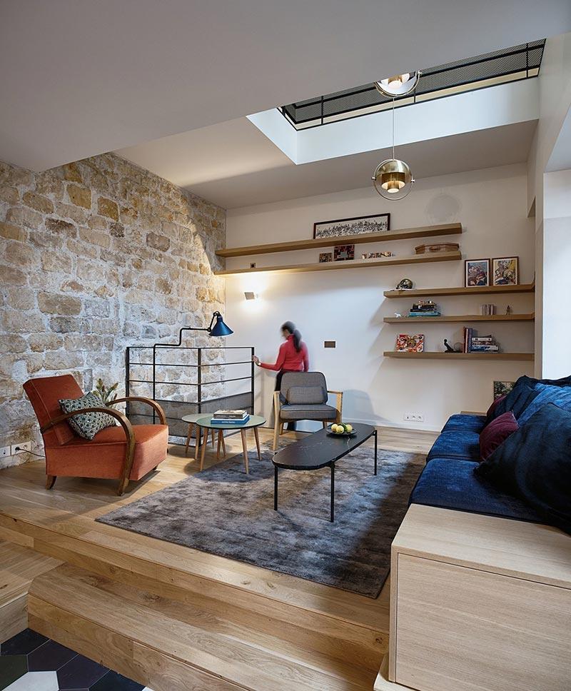 parisian family home living design abc - A Parisian Family Home