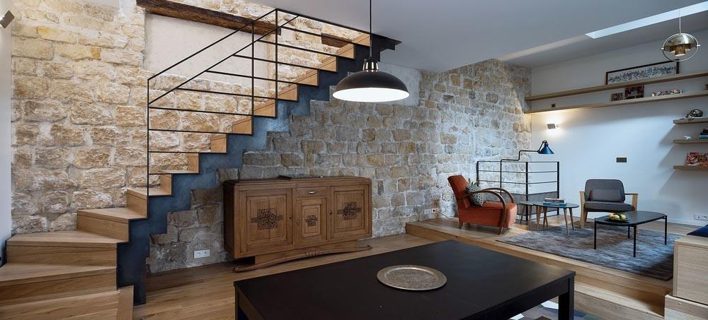 parisian family home space design abc - A Parisian Family Home