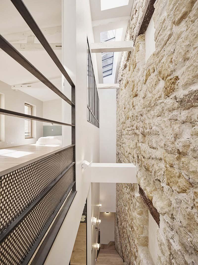 parisian family home stone design abc - A Parisian Family Home