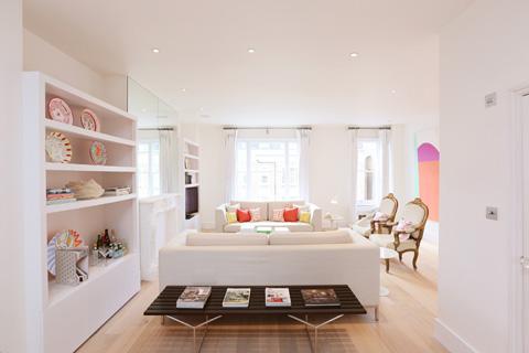 Eardley Crescent Residence Modern Pastels Beautiful