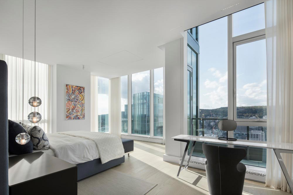 penthouse bedroom design - Belvedere Penthouse