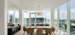 penthouse dining room design 300x140 - Belvedere Penthouse