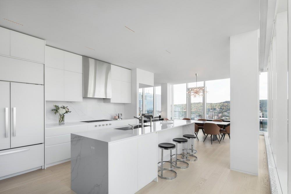 penthouse kitchen design - Belvedere Penthouse