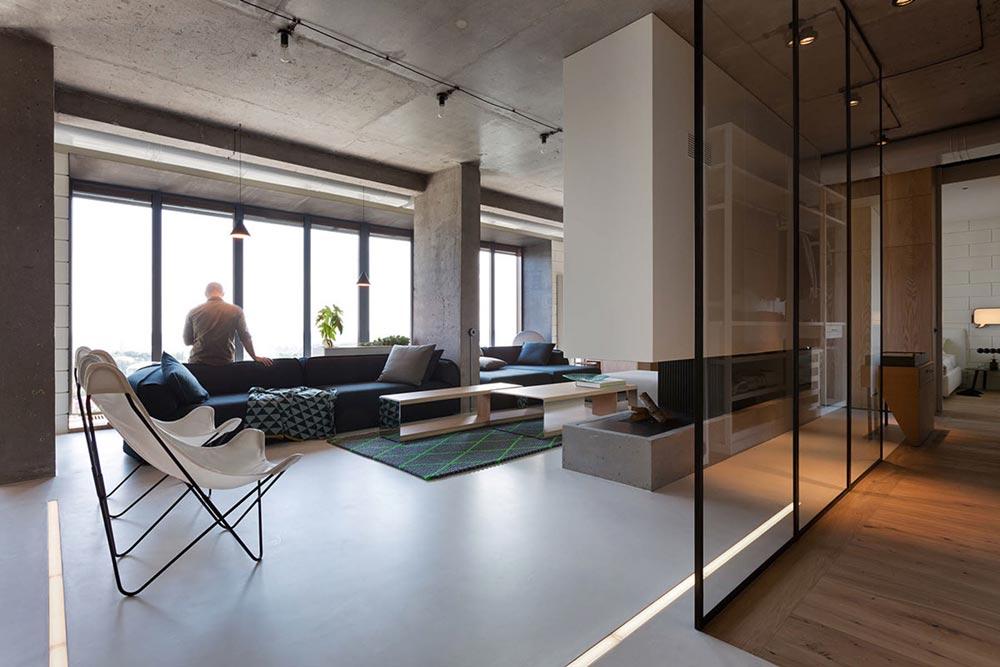 npl penthouse loft design. Black Bedroom Furniture Sets. Home Design Ideas