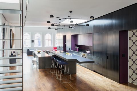 penthouse loft design wac 51 - Wooster Street Loft: A Modern Loft with Oodles of Interest