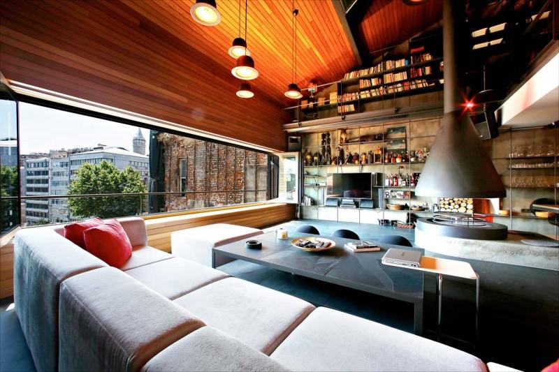 penthouse loft ofist 800x533 - Karakoy Loft