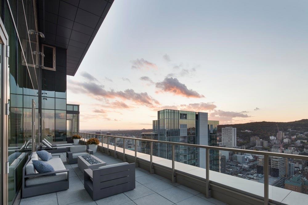 penthouse terrace design - Belvedere Penthouse