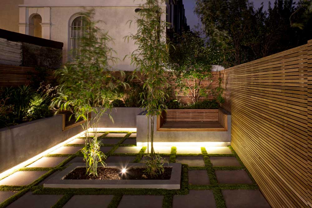 period home garden design dp - Englefield Road Residence