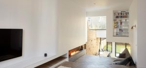 period house split level fireplace 300x140 - The Scenario House