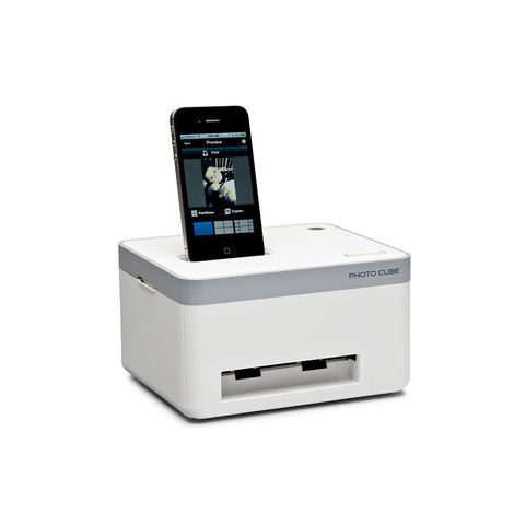 Photo Cube Compact Photo Printer it is The Photo Cube Printer