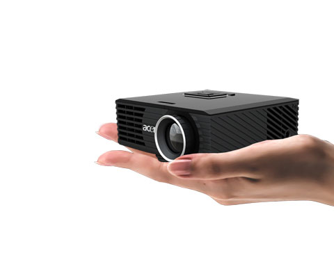 Acer c120 travel projector anywhere anytime misc gadgets for Palm projector
