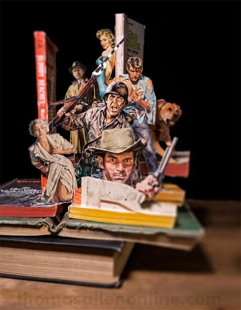 pop up books tallen - How to make a pop-up book with a twist