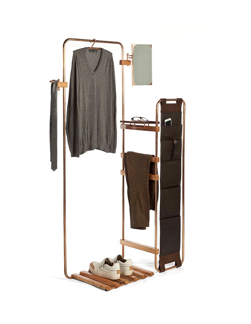 Modular Freestanding Furniture System For Nomadic People