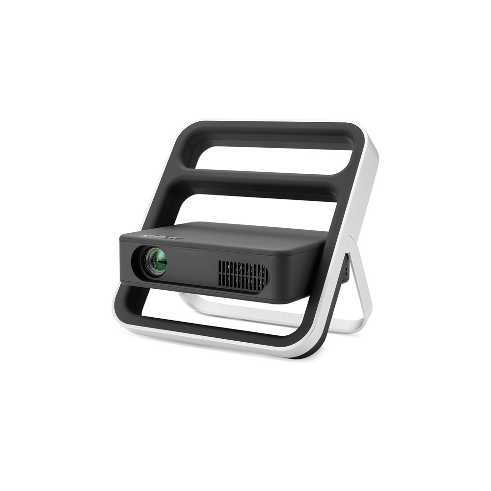 Portable compact hd kickstand projector from bem wireless for Compact hd projector