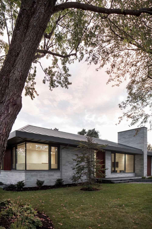 prairie house design facade - Prairie House