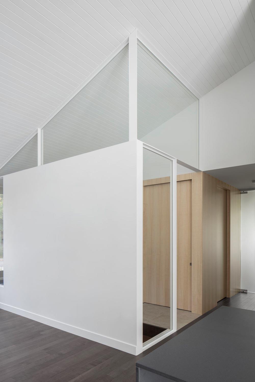 prairie house design foyer - Prairie House