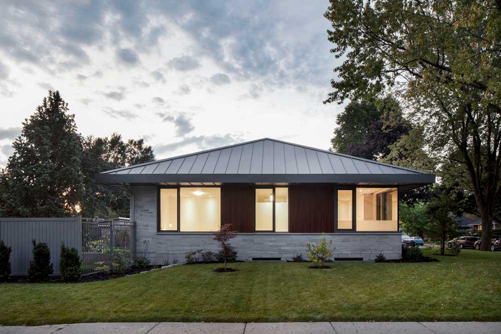 prairie house design side - Prairie House