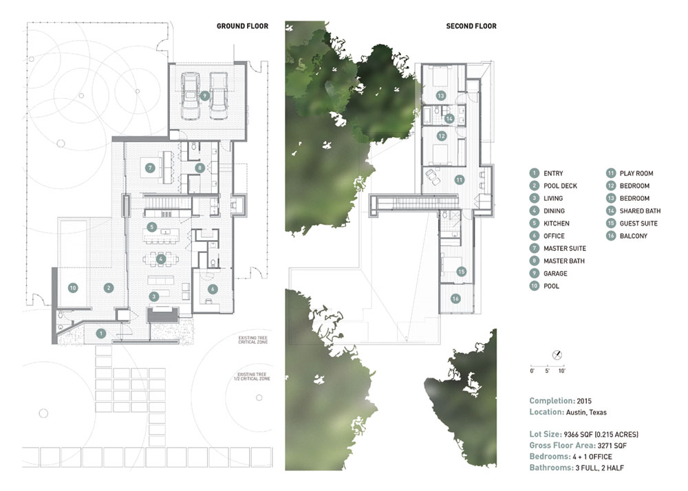 Contemporary prairie style inspired home in austin texas for Zeb pilot house floor plan