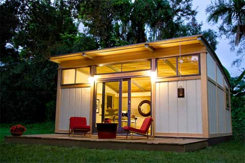 Interview cabin fever prefab design construction news for Modular granny flat california