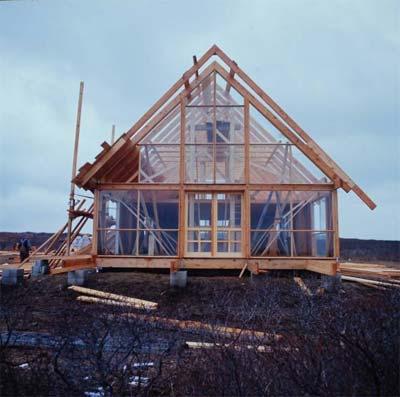 prefab cabin jensrisom 9 - Prefab Cabin: Oldie But Goodie