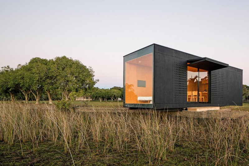Busyboo modern cabins joy studio design gallery best for Prefab studio cottage