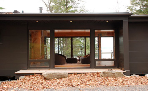 Coffey Hauswirth House: Prefab Thinking - Prefab Cabins