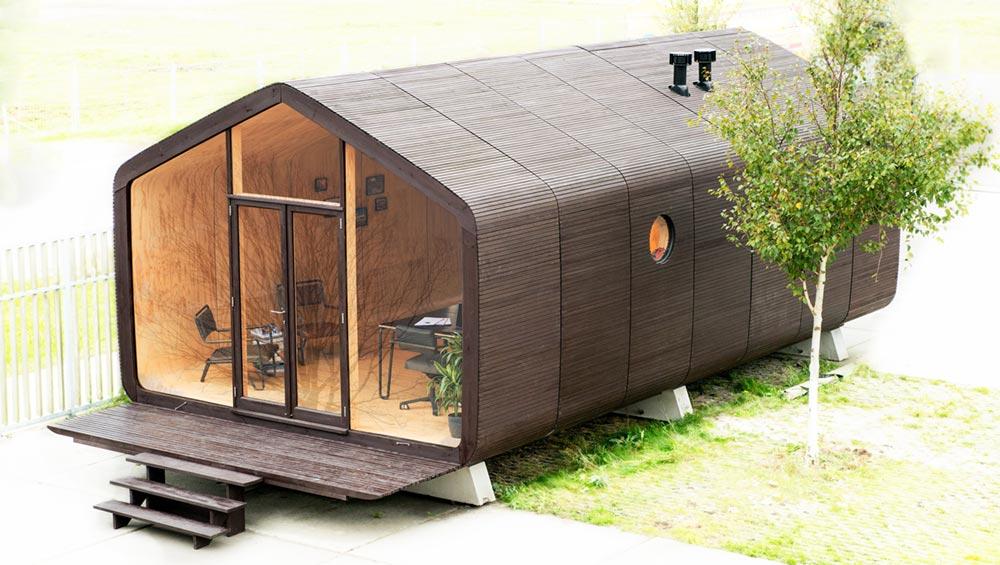 Small prefab cabin Wikkel