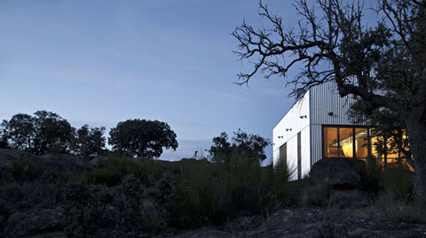 small prefabricated home in Spain