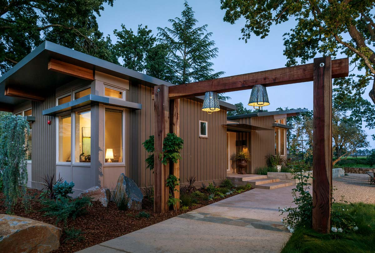 Willson Napa Residence Prefab Homes