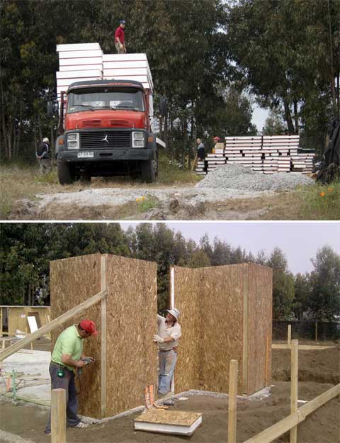 prefab home sip construction - SIP Panel House: a prefab home in 10 days