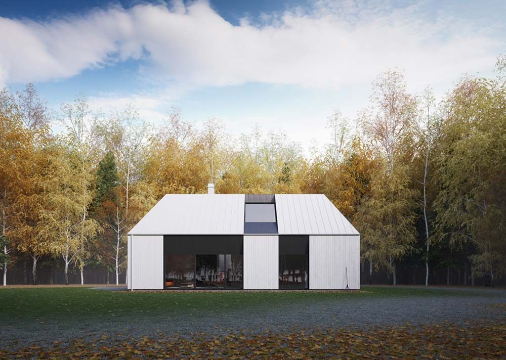 prefab home tind ckr0 1000x712 - Tind House: modern prefab reflecting tradition